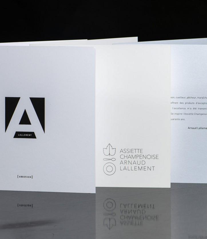 Imprim'Eclair - Communication papier - Assiette Champenoise