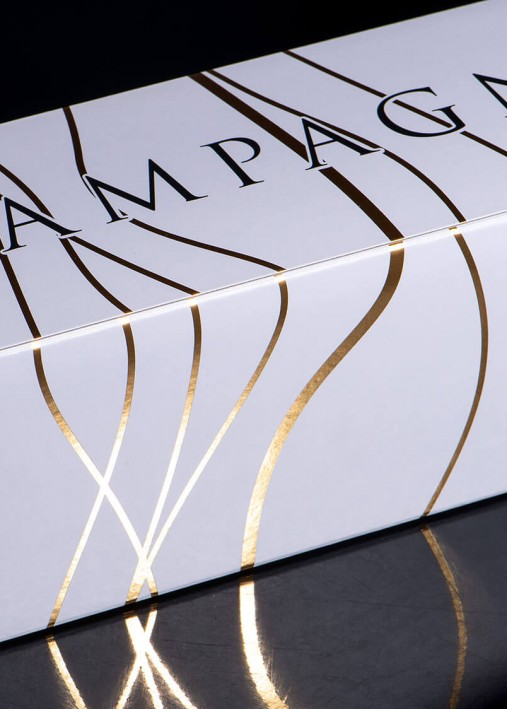 Imprim'Eclair - Packaging - Etui personnalisable - Champagne Adam Mereaux