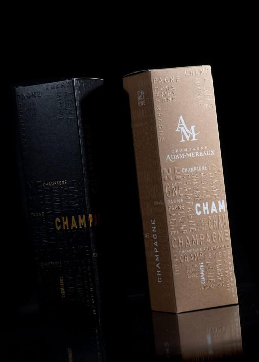 Imprim'Eclair - Packaging - Champagne Adam Mereaux