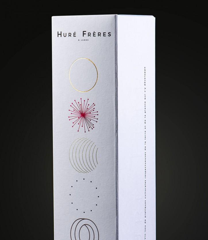 Imprim'Eclair - Packaging - Champagne Huré frères