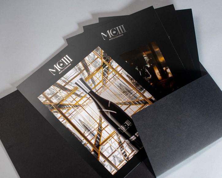 Imprim'Eclair - Communication papier - Moët & Chandon