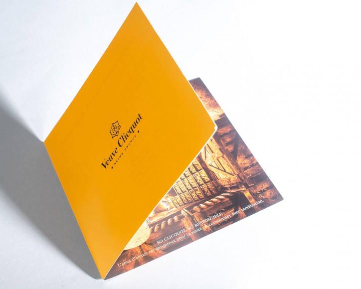 Imprim'Eclair - Communication papier - Veuve Clicquot